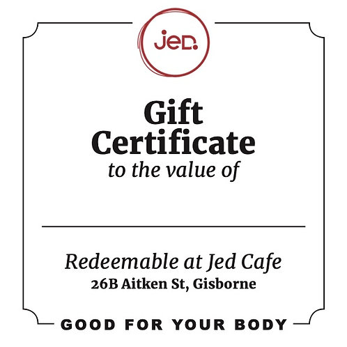 Jed Gift Voucher - From $25