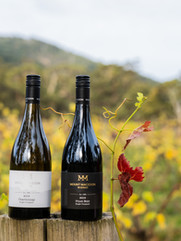 Mount Macedon Winery Chardonnay and Pinot noir