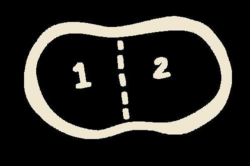 1Litre tub (2 flavours)