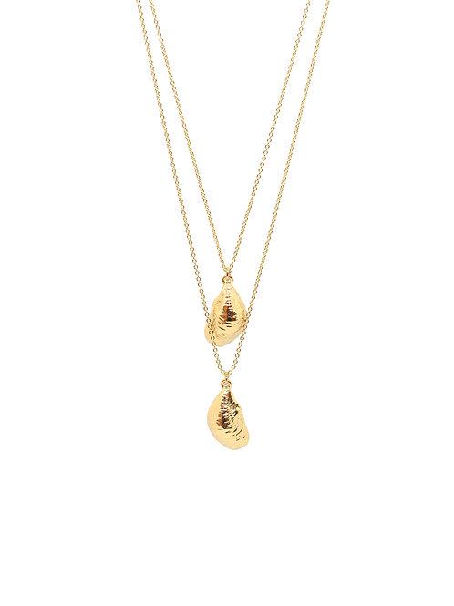 Lulu Shell Multi Necklace
