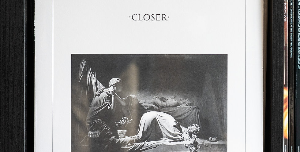Joy Division – Closer (Clear Vinyl)