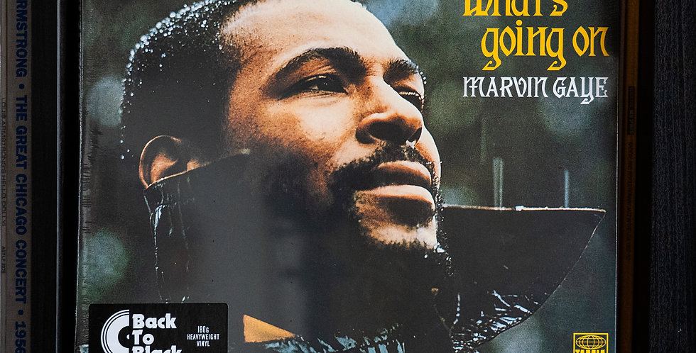 Marvin Gaye ‎– What's Going On (LP)
