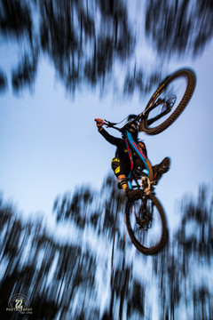 Flying overhead!
