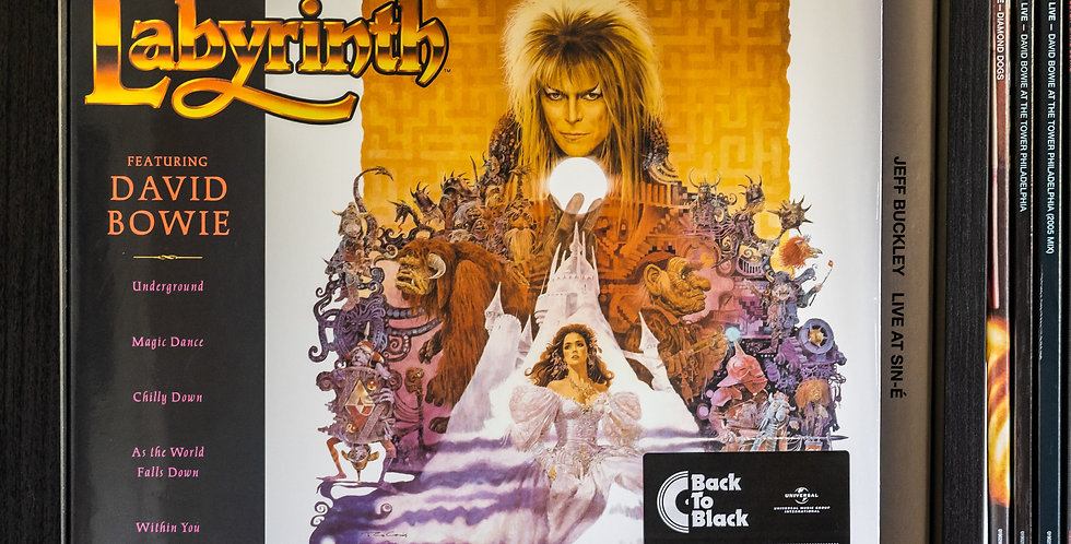 David Bowie, Trevor Jones ‎– Labyrinth (From The Original Soundtrack Of Th (LP)