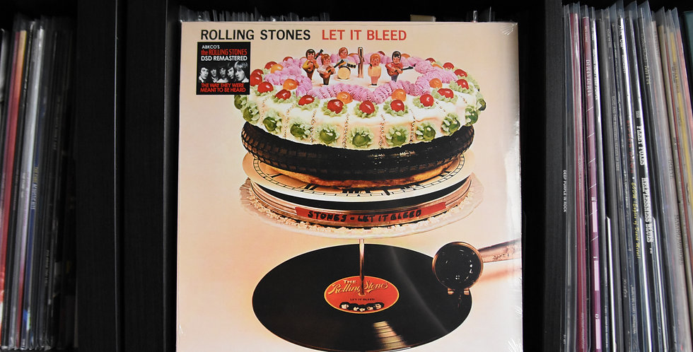 The Rolling Stones ‎– Let It Bleed (LP)