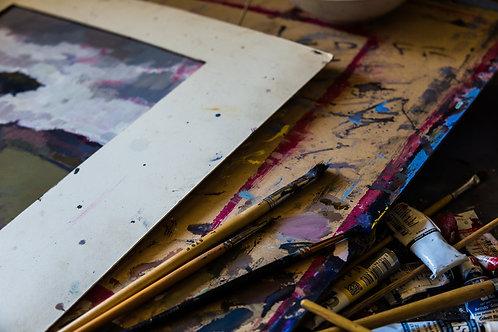 'The Painter' Fine Art Print