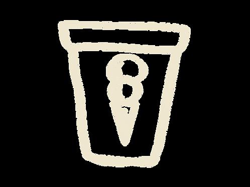 500ml tub (1 flavour)