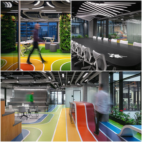 Playful offices for Livesport