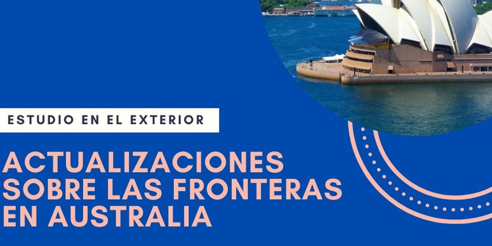 WEBINAR: Actualizaciones sobre Australia