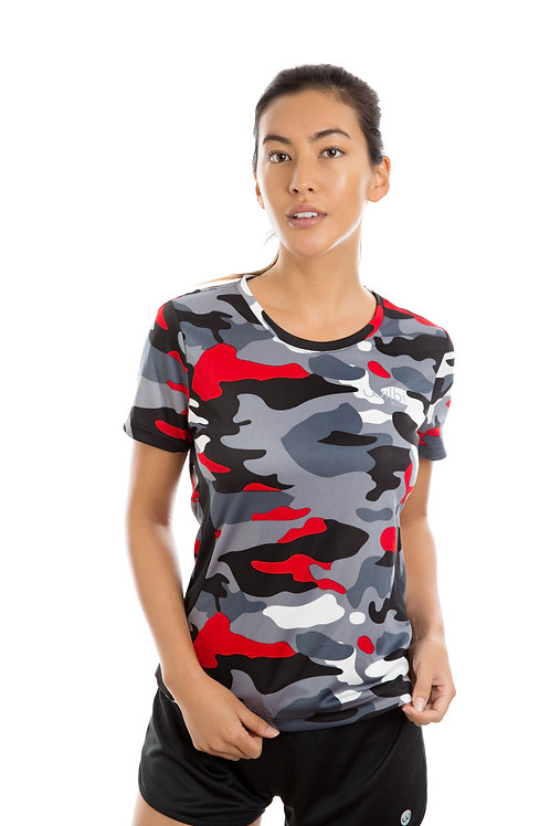 Women's Printed Short Sleeve Shirt