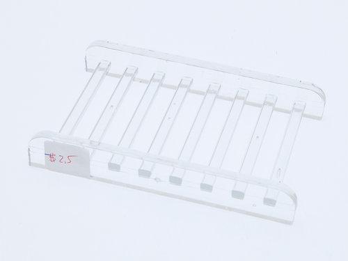 Plastic Bar Soap Holder For Bathroom, Shower   Rectangular, Clear