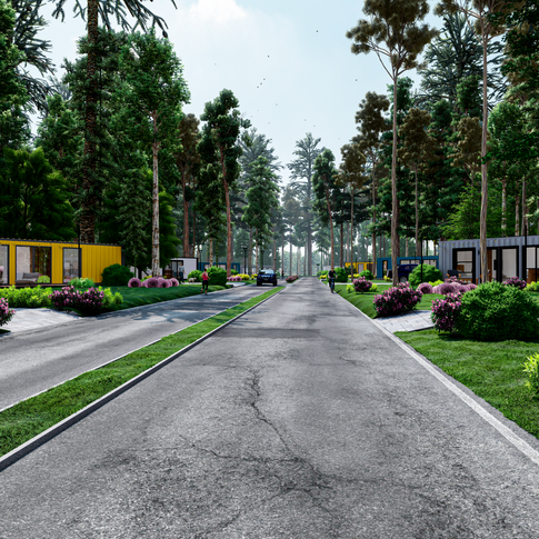 Community Renderings - Central Location.