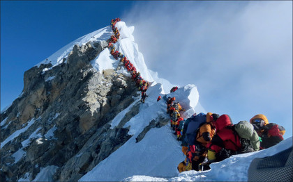 The Mt. Everest Climb Overcrowding