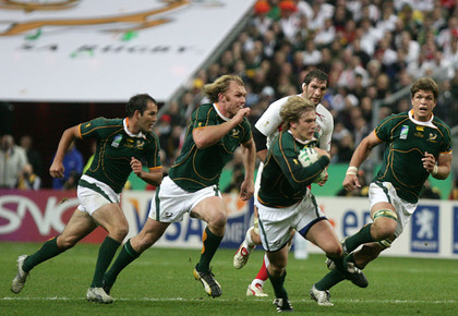 Rugby World Cup - The competition between the world's best teams emits 570,000 toms of CO2 into the atmosphere.