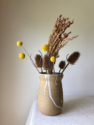 Gilded Drip Vase