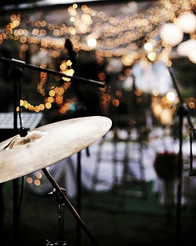 Bühnenaufbau Hochzeit