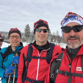 4 MN Guys in Lillehammer