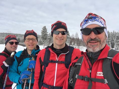 4 MN Guys in Lillehammer