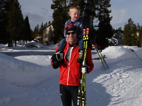 Rendezvous Ski Race in West Yellowstone