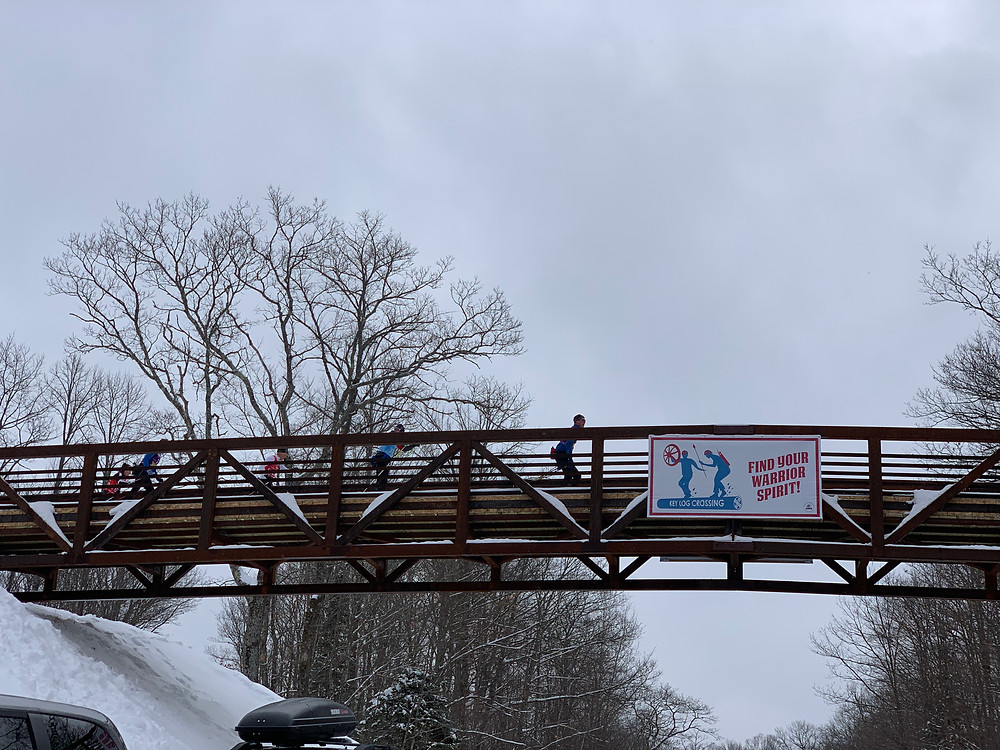 Overpass on the Birkie Ski Trail at OO