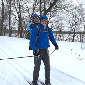 Osprey Poco vs. Thule Chariot vs. Kinder Shuttle pulk review (cross country ski)