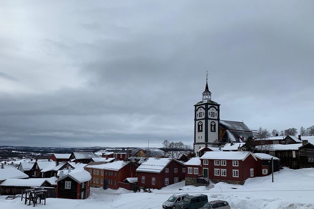 Røros, Norway in winter.