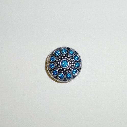snap button - turquoise quartz