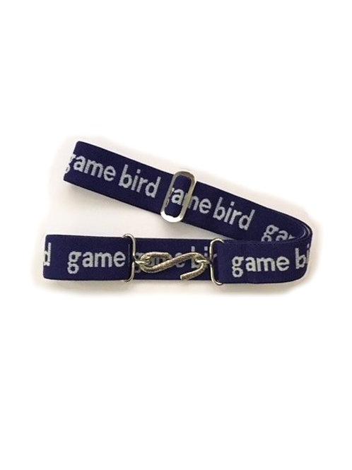snake belts - game bird logo