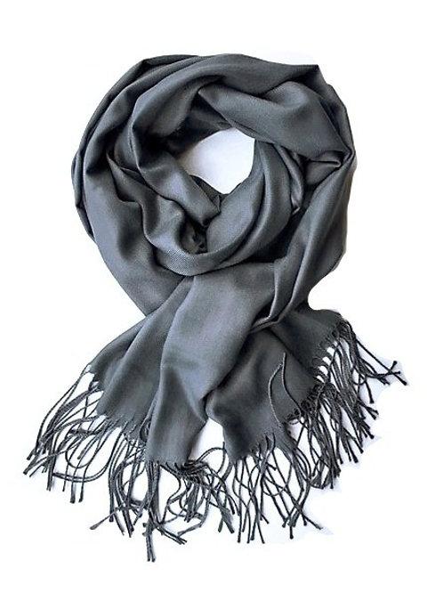 grey pashmina scarf