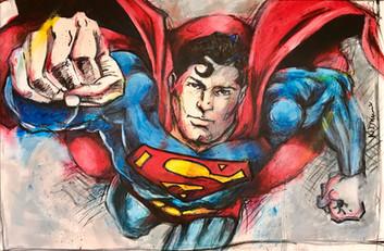 Like a superman - 196 x 97 cm