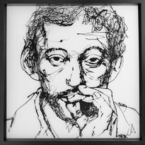 Gainsbourg - 50 x 50 cm