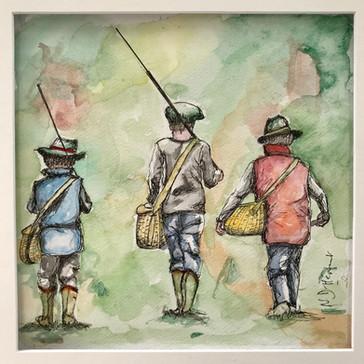 Petits pêcheurs