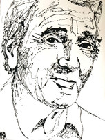 Aznavour - 60 x 80 cm