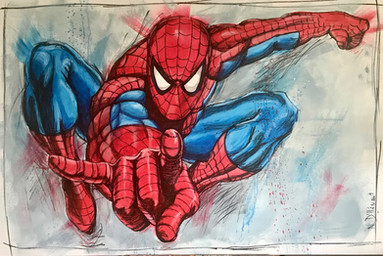 Spiderman - 146 X 97 cm