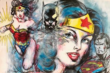 Superheros - 196 x 97 cm