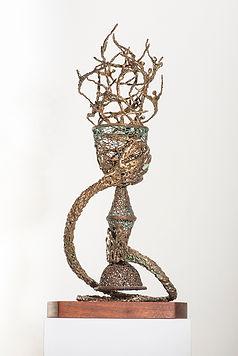 Woven-Metal-Sculpture
