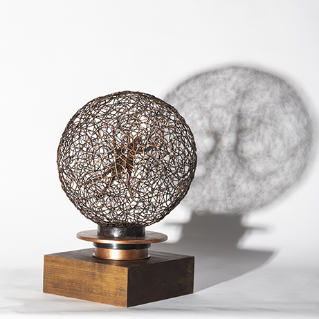 Woven Metal Sculpture Rita Ross