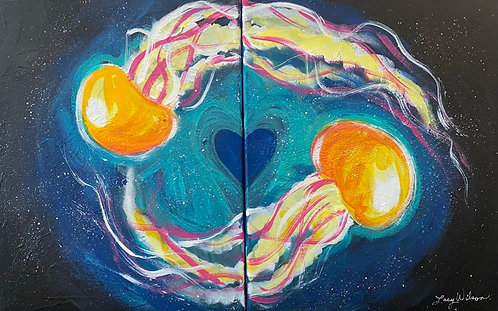 Couples Paint Night at the Lacy Wilson Art Studio 6/4 @6pm