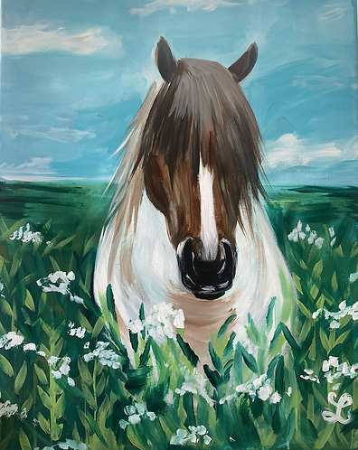 Paint your Pony Paint Night for All Ages
