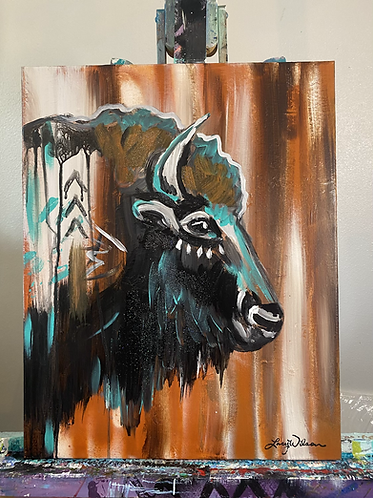 Boho Buffalo Paint Night at the Palomino Room  3/6 at 6pm