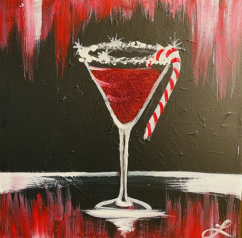 Frost Yourselves Paint Night at the Studio 12/11 @6pm
