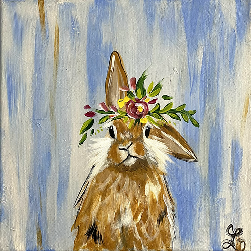 Spring Bunny Paint Night 4/27 @6pm