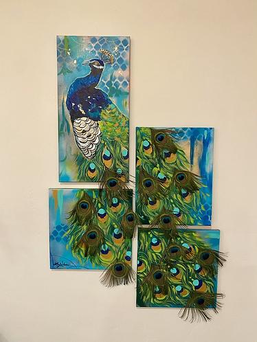 Pretty Peacock Pieces