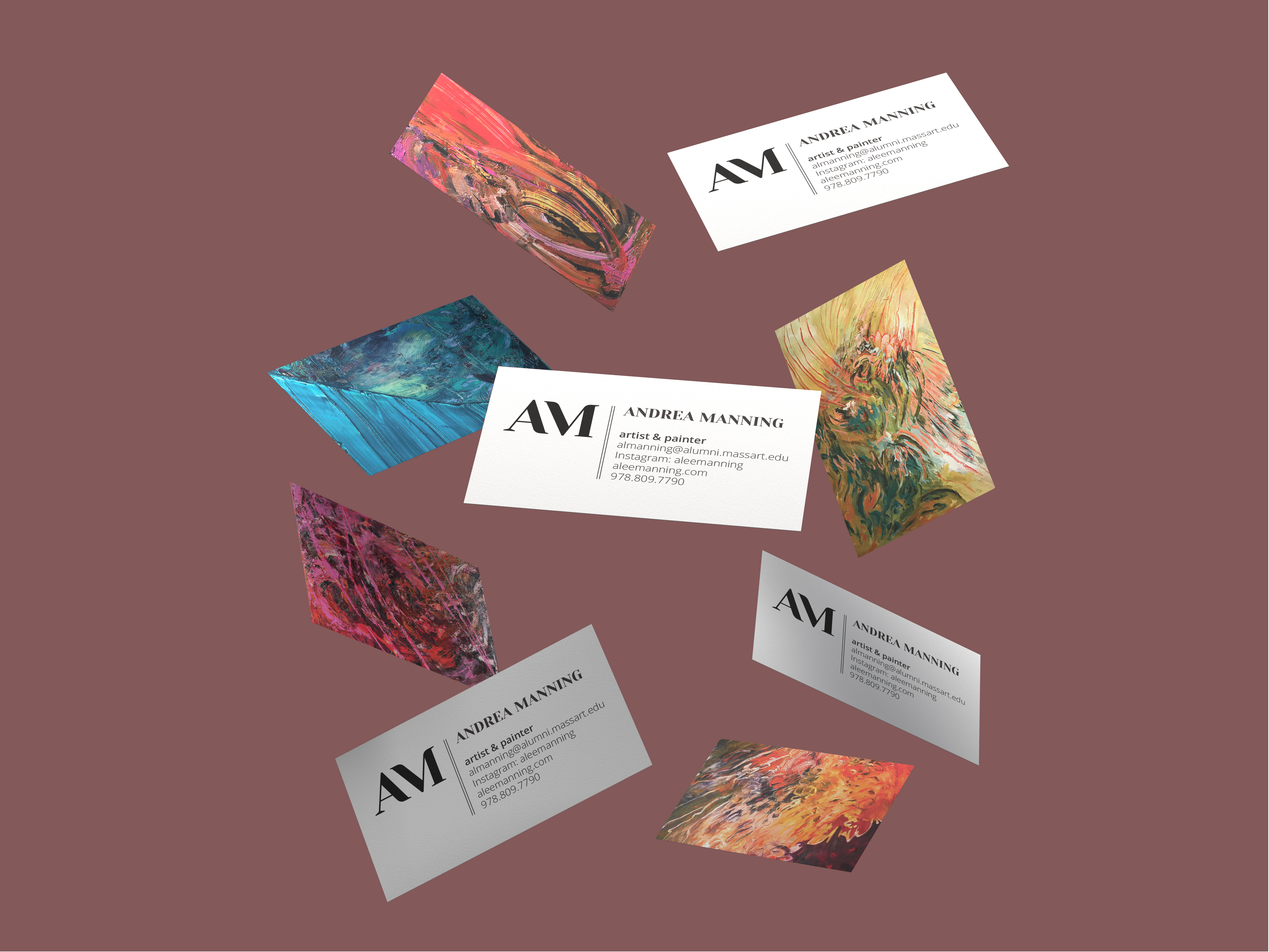 Andrea Manning Artist Branding