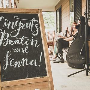 Jenna and Brenton