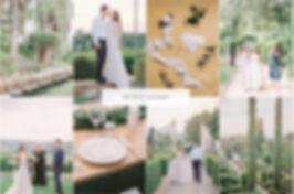 Villa le Piazzole in Florence are experts in styling stylish fine art weddings.