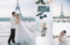 Paris Wedding Photography at the Trocadero and Eiffel Tower. Lovers shoot in the city of love, with Victorine in her stunning Watters Bridal Gown.