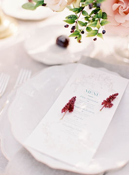 Wedding Table Fine Art Wedding Photography Crillon Le Brave, France