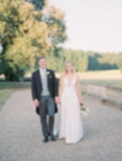 Turvey House Wedding, couple portrait shoot