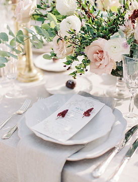 Parisian Elopement and exquisitely styled Dinner Table